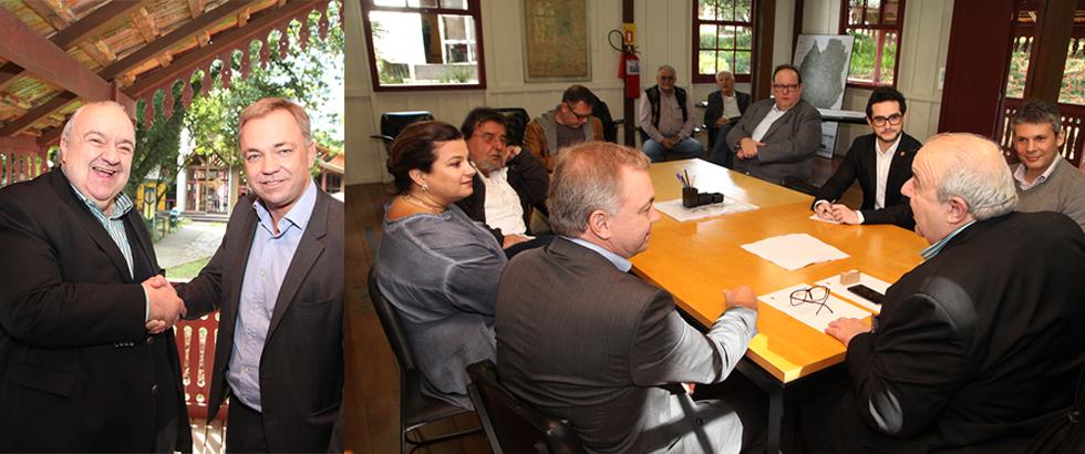 Curitiba e Florianópolis estudam parcerias na cultura e inovação