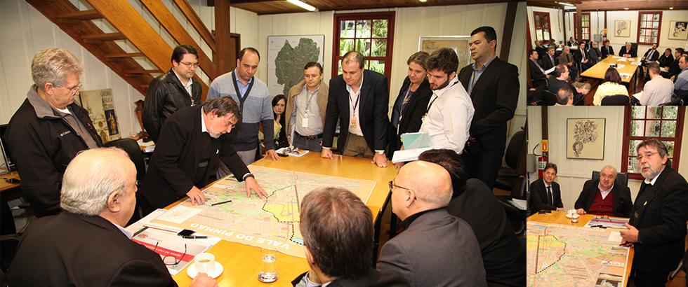 Prefeitura e Copel alinham projetos de interesse da cidade