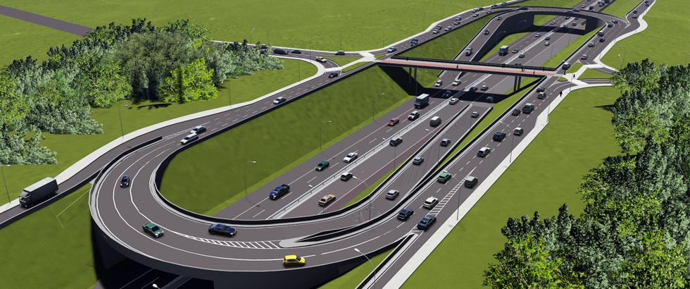 Estudo do novo Viaduto do Orleans prevê fluidez plena do tráfego na região
