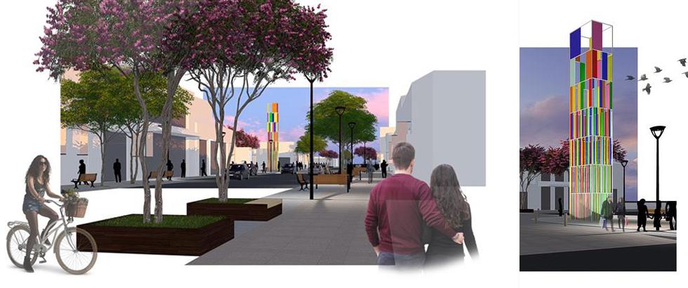 Rua Bley Zornig será revitalizada como polo das malhas