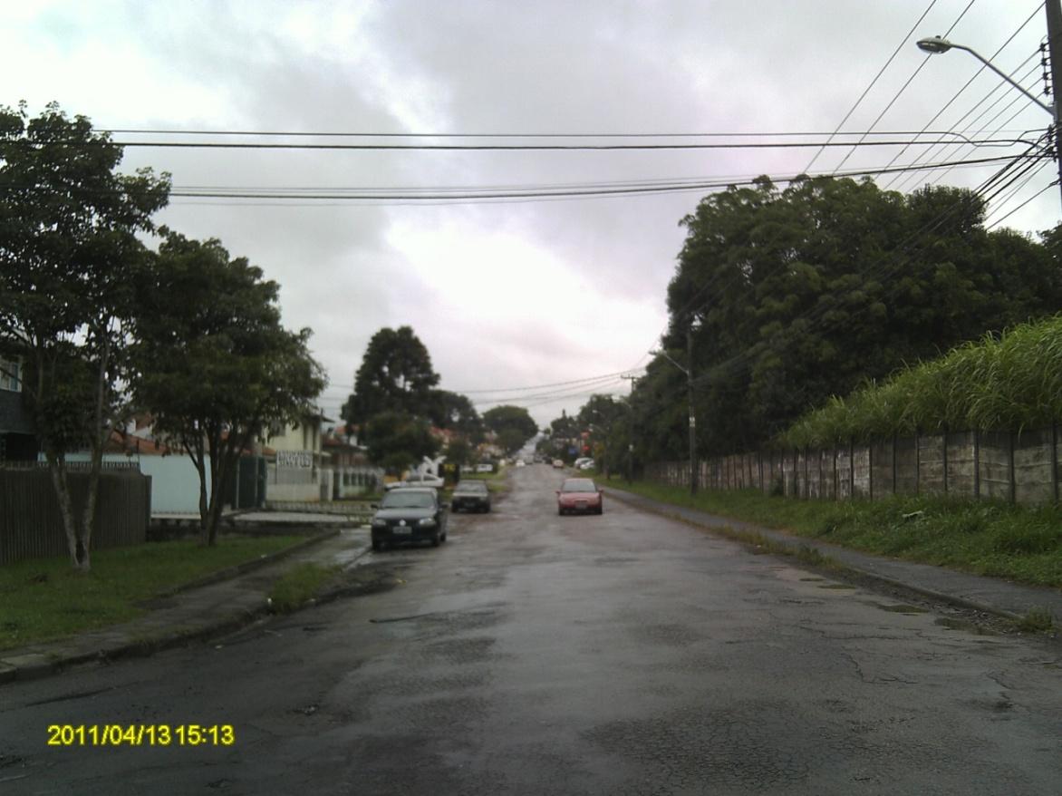 Rua Des. Antonio de Paula - antes