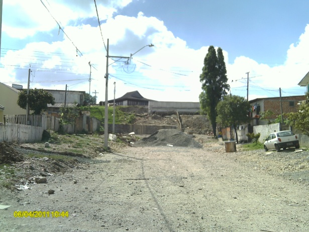 Binário Chile - Guabirotuba - antes