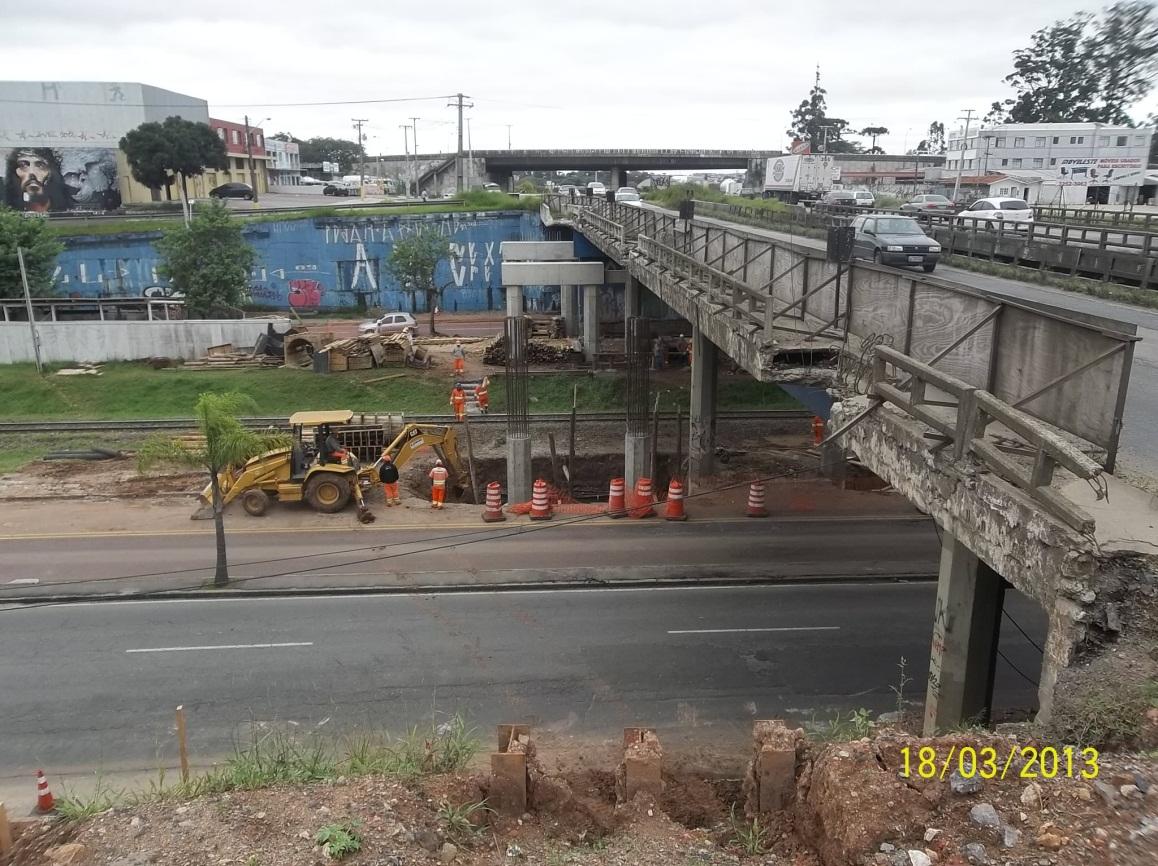 Linha Verde Trecho 1 - ampliação Viaduto Affonso Camargo - antes