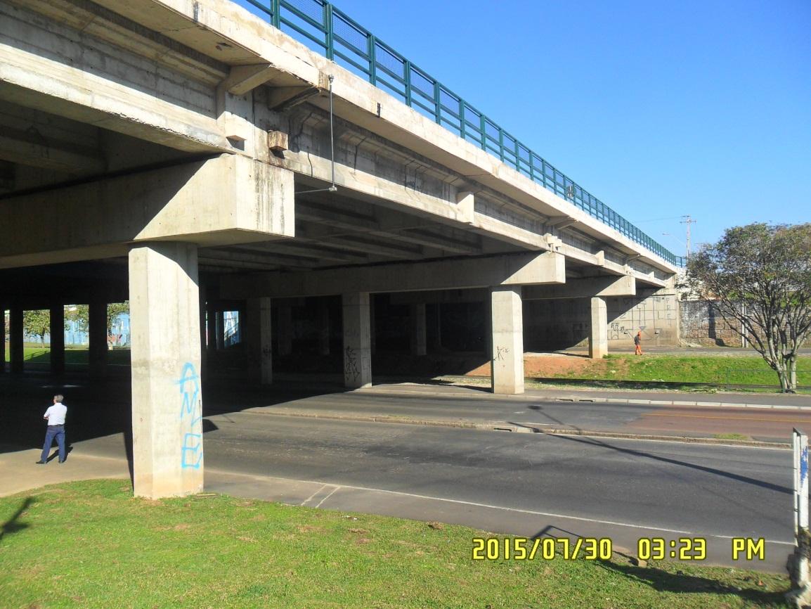 Linha Verde Trecho 1 - ampliação Viaduto Affonso Camargo - depois