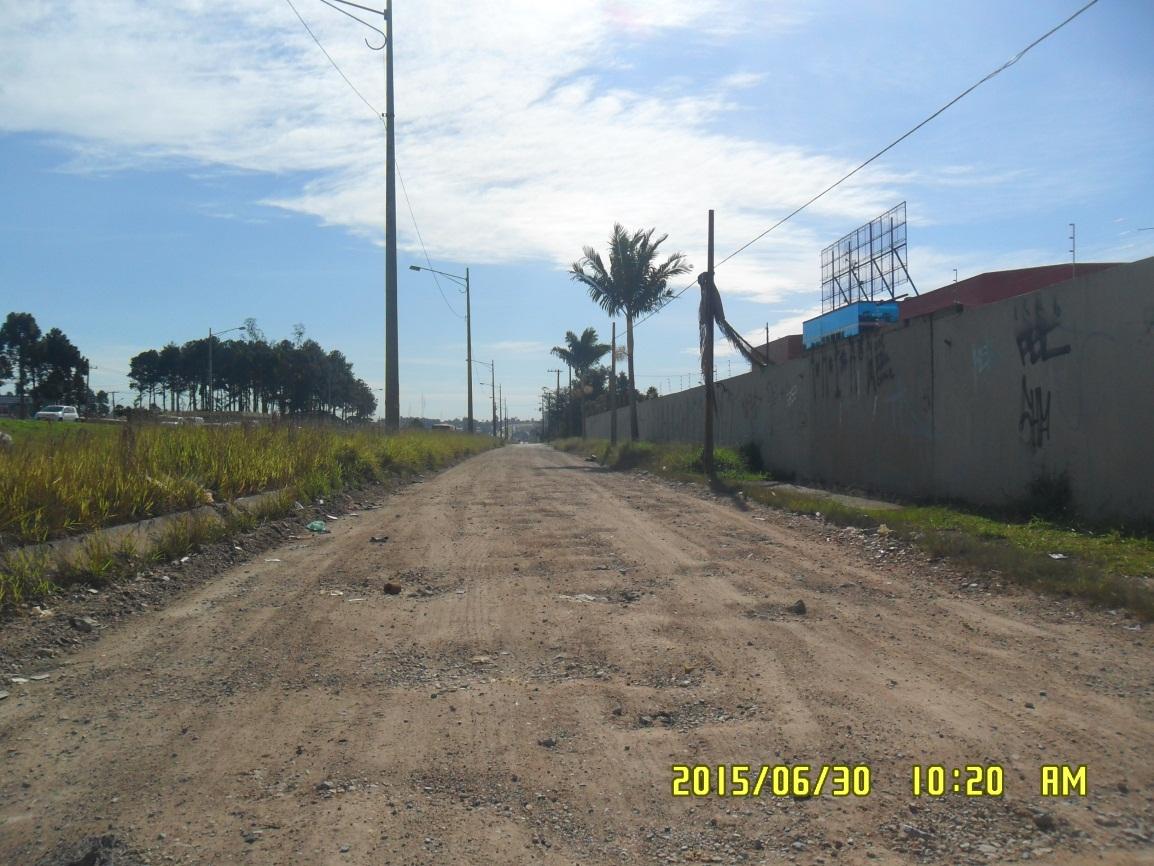 Linha Verde Trecho 3 - antes