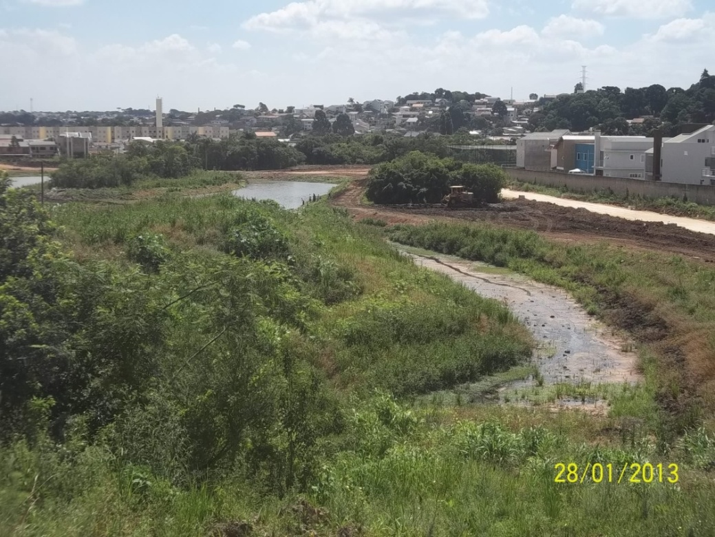 Parque Linear do Rio Barigui - Vila Rigoni - antes