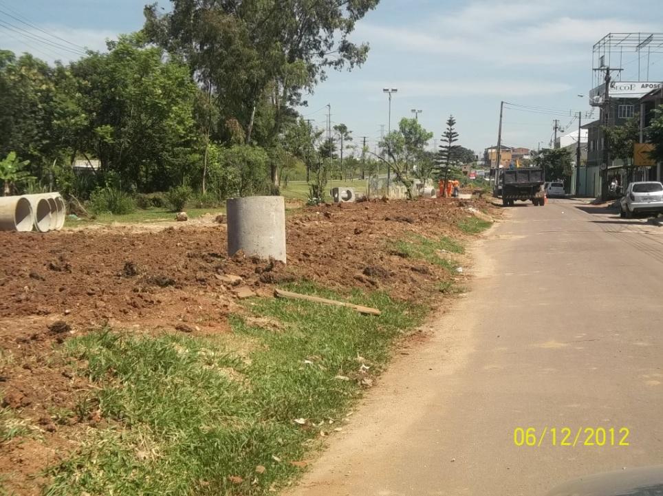 Parque Linear do Rio Barigui - Rua Bernardo Meyer - antes