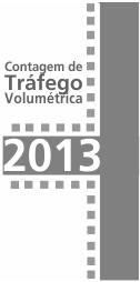 Imagem contagens de tráfego 2013
