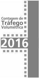 Imagem contagens de tráfego 2016
