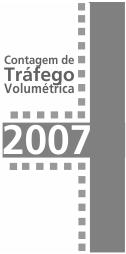 Imagem contagens de tráfego 2007