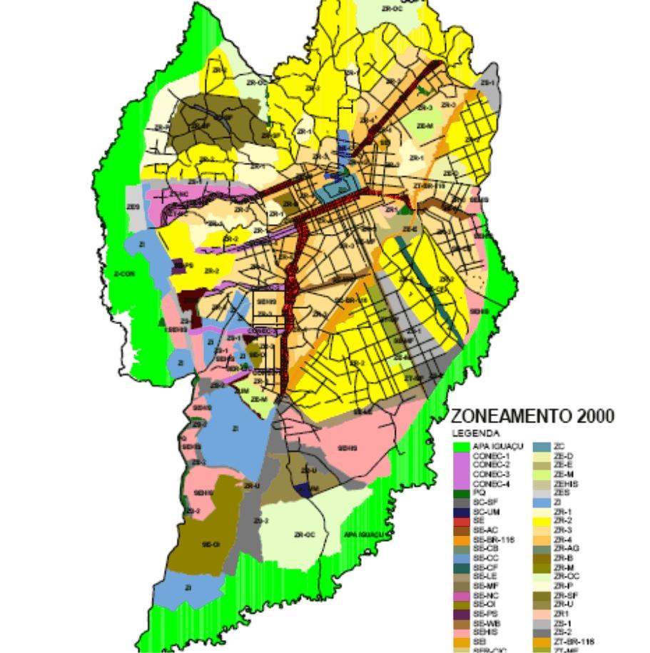 Zoneamento 2000 com APAS