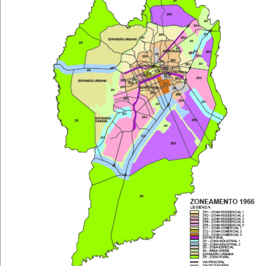 Zoneamento 1966
