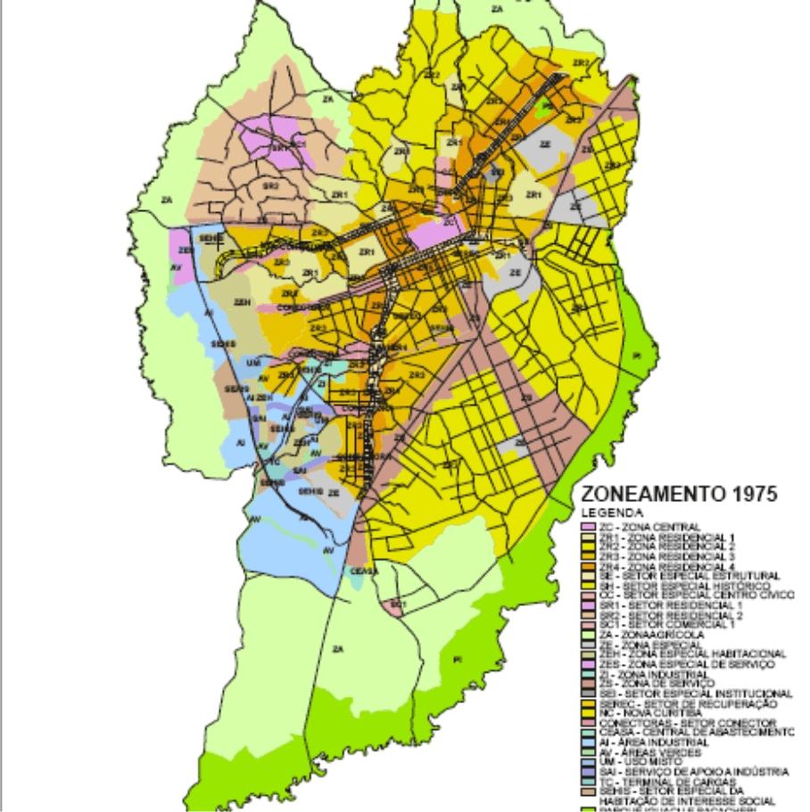 Zoneamento 1975