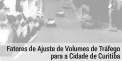 Fatores de Ajuste de Volumes de Tráfego para a Cidade de Curitiba-R00