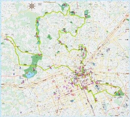 figura - mapa turístico