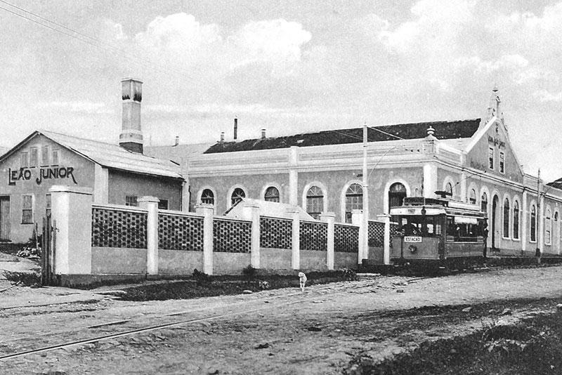 Engenho da Matte Leão. Fonte:Instituto Histórico e Geográfico do Paraná