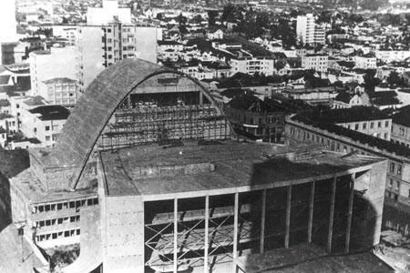 Construção do Teatro Guaíra